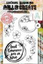 AALL and Create A6 Clear Stamp Set #1 by Carol AndCo